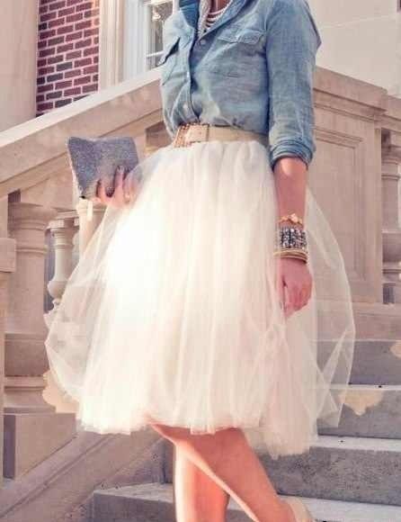 1422452108. Знаменитая юбка-пачка Кэрри Брэдшоу покорила весь мир! . Носили бы такую в повседневной жизни