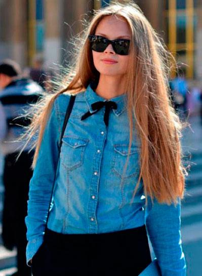 Женские джинсовые рубашки 2015 каталог, где купить, цены
